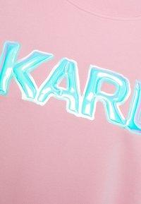 KARL LAGERFELD - BALLOON LOGO  - Sweatshirt - pink - 6