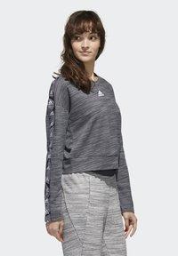 adidas Performance - Sweatshirt - dark grey heather/white - 2
