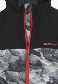 Ziener - ALIAM JUNIOR - Skijakker - black - 4