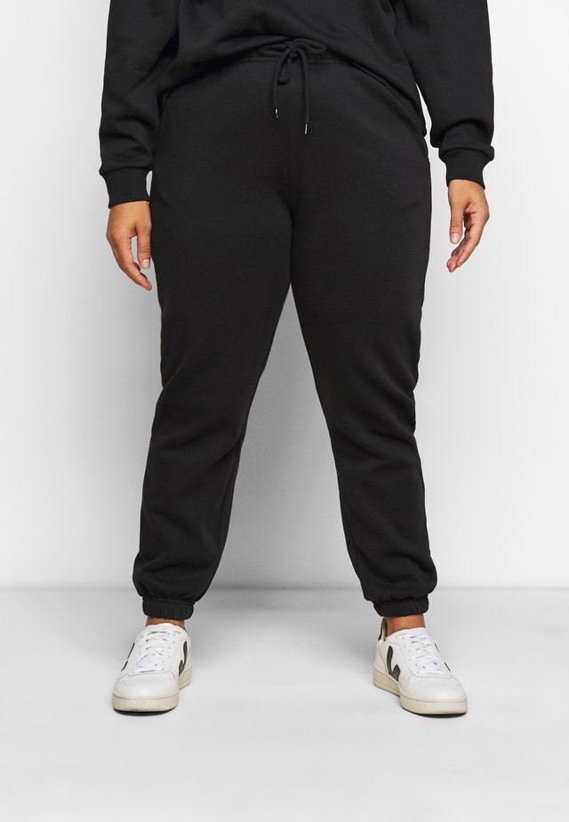PCCHILLI PANTS - Bukse - black