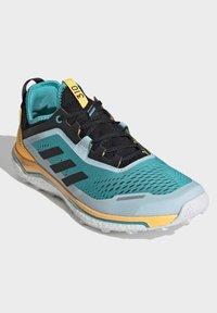 adidas Performance - TERREX AGRAVIC FLOW SHOES - Obuwie do biegania Szlak - turquoise - 3