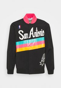 Mitchell & Ness - NBA SAN ANTONIO SPURS AUTHENTIC WARM UP JACKET - Training jacket - black - 0