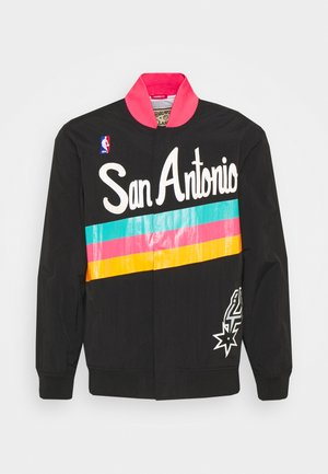 NBA SAN ANTONIO SPURS AUTHENTIC WARM UP JACKET - Giacca sportiva - black