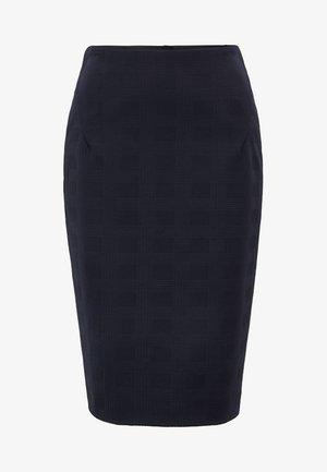VILULA - Pencil skirt - dark blue