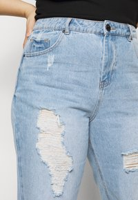 Simply Be - NON STRETCH SUPER MOM - Relaxed fit jeans - stonewash - 5
