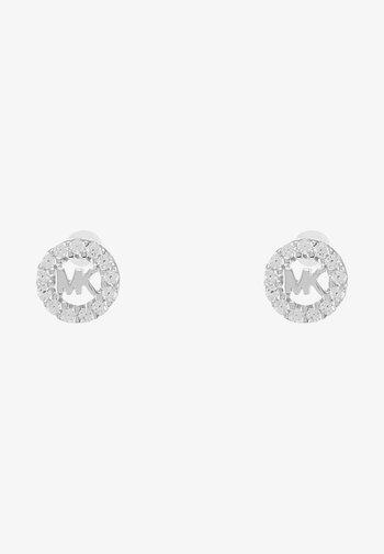 PREMIUM - Earrings - silver-coloured