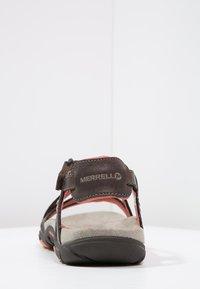 Merrell - SANDSPUR  - Sandali da trekking - earth - 3