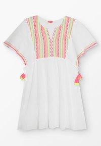Sunuva - YOUTH GIRLS SMOCKED CHEESECLOTH DRESS - Day dress - white - 0