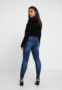 Missguided Petite - RUCHED FRONT JUMPER - Maglione - black - 2