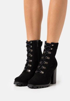 IMOJEN - High heeled ankle boots - black