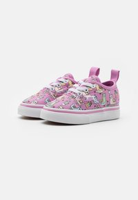 Vans - AUTHENTIC ELASTIC LACE - Sneakers laag - orchid/true white - 1