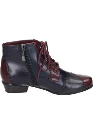 Ankle boots - sangria/melanzana