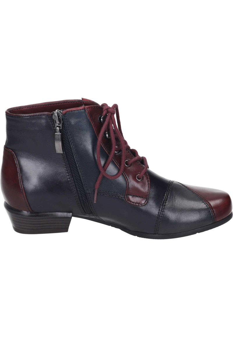 Piazza - Ankle boots - sangria/melanzana
