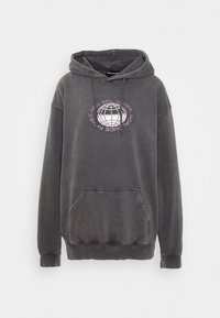 NEW girl ORDER - PLANET WASHED HOODY - Mikina s kapucí - grey - 4