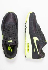 Nike Sportswear - AIR MAX 90 - Sneakers laag - dark smoke grey/volt/barely volt - 3
