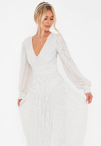 BEAUUT - STEPH EMBELLISHED SEQUINS  - Occasion wear - ivory - 2
