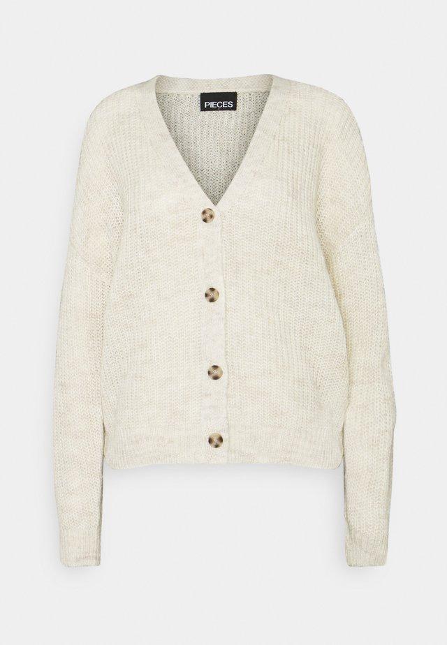 PCSEMELE CARDIGAN - Vest - whitecap gray