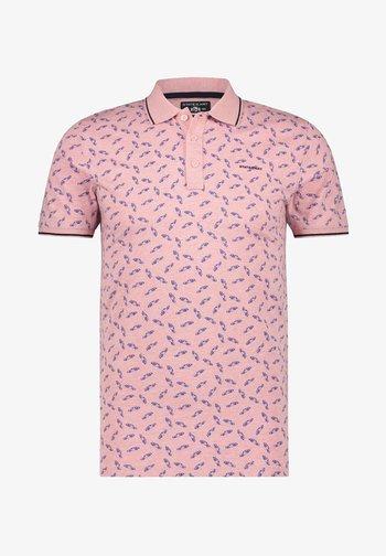 Polo shirt - pink/midnight