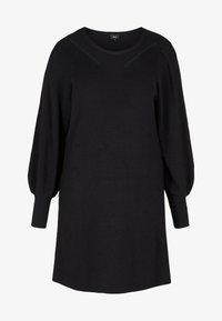 Zizzi - Shift dress - black - 3