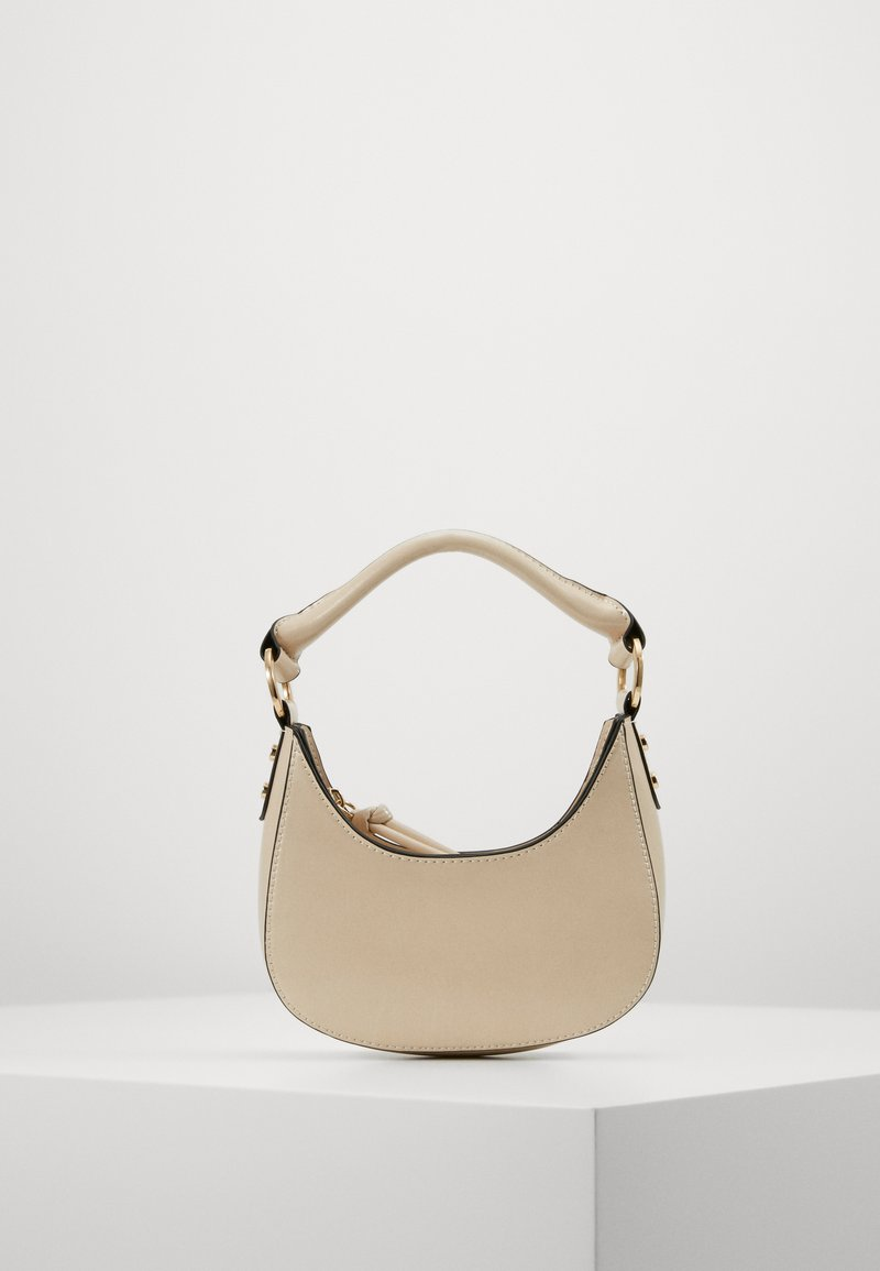 Topshop - BANANA GRAB - Handbag - off white