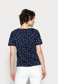 Springfield - BOTON - Print T-shirt - medium blue - 2