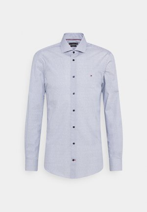 GEO SLIM FIT - Camisa elegante - navy/ white