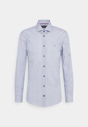 GEO SLIM FIT - Formální košile - navy/ white