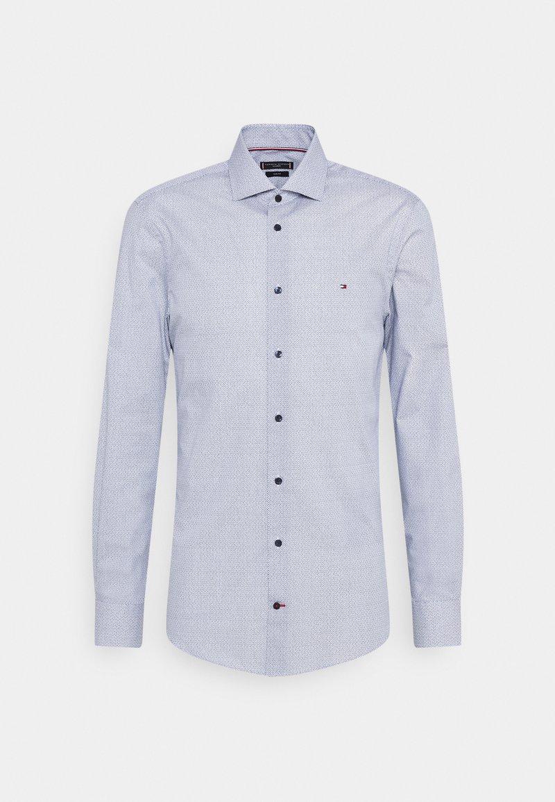 Tommy Hilfiger Tailored - GEO SLIM FIT - Formal shirt - navy/ white