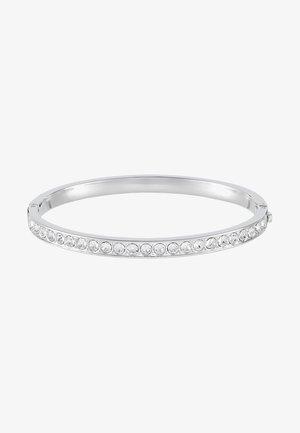 CLEMARA HINGE BANGLE - Bracelet - silver-coloured/crystal