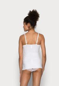Skiny - DAMEN SPAGHETTI - Undershirt - white - 2