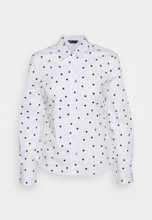 SPOT FITTED - Button-down blouse - offwhite