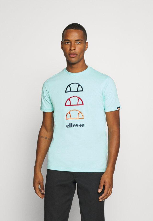 FEVER - T-shirt imprimé - turquoise