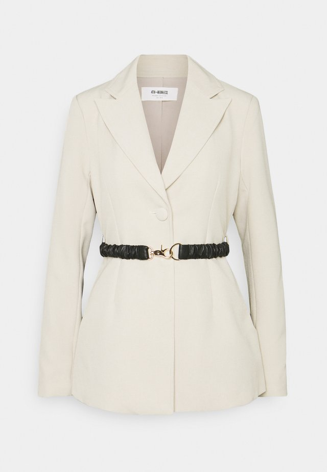 LENNON  - Short coat - cream