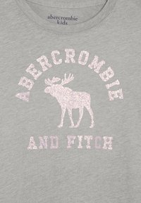 Abercrombie & Fitch - LOGO GRAPHIC - Langærmede T-shirts - grey - 3