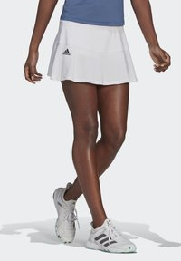 adidas Performance - TENNIS MATCH SKIRT - Sports skirt - white - 0
