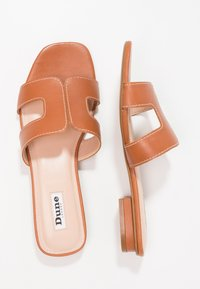Dune London - LOUPE - Mules - tan - 3