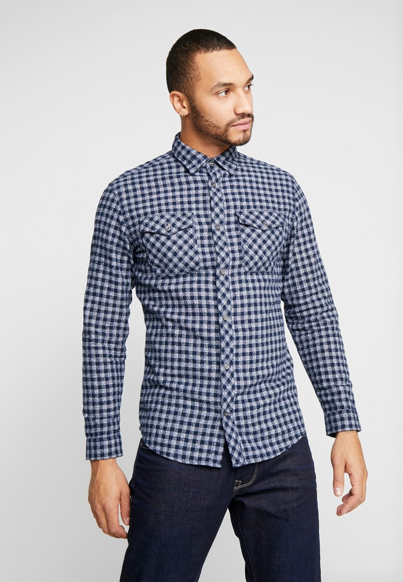 Jack & Jones - JCOTOWNSVILLE WORKER - Overhemd - sky captain