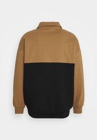 Kaotiko - CREW COONOR UNISEX - Zip-up hoodie - sand - 1