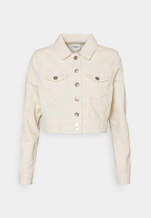 ONLWESTA COLOR CROPPED JACKET - Denim jacket - whitecap gray