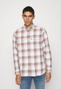 Levi's® - JACKSON WORKER - Overhemd - bleached datolite vetiver - 0