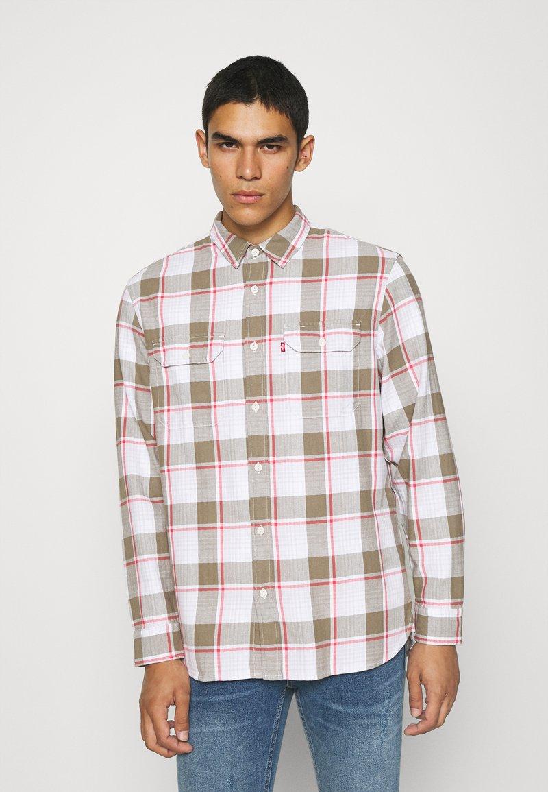 Levi's® - JACKSON WORKER - Overhemd - bleached datolite vetiver