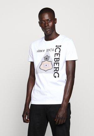 T-shirt imprimé - bianco