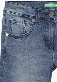 Benetton - TROUSERS - Bootcut jeans - light-blue denim - 3
