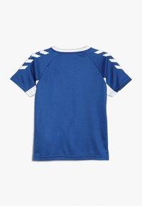 Hummel - Print T-shirt - true blue - 1