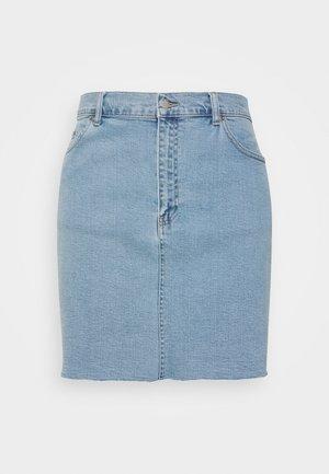 MALLORY SKIRT - Denim skirt - light retro