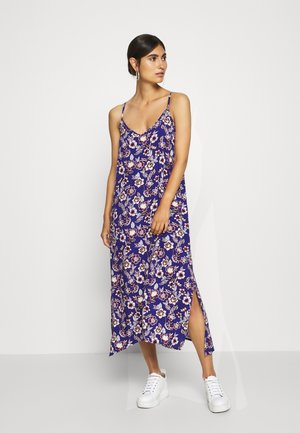 MIDI HANKY DRESS - Kjole - blue