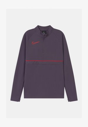 Sports shirt - dark raisin/siren red