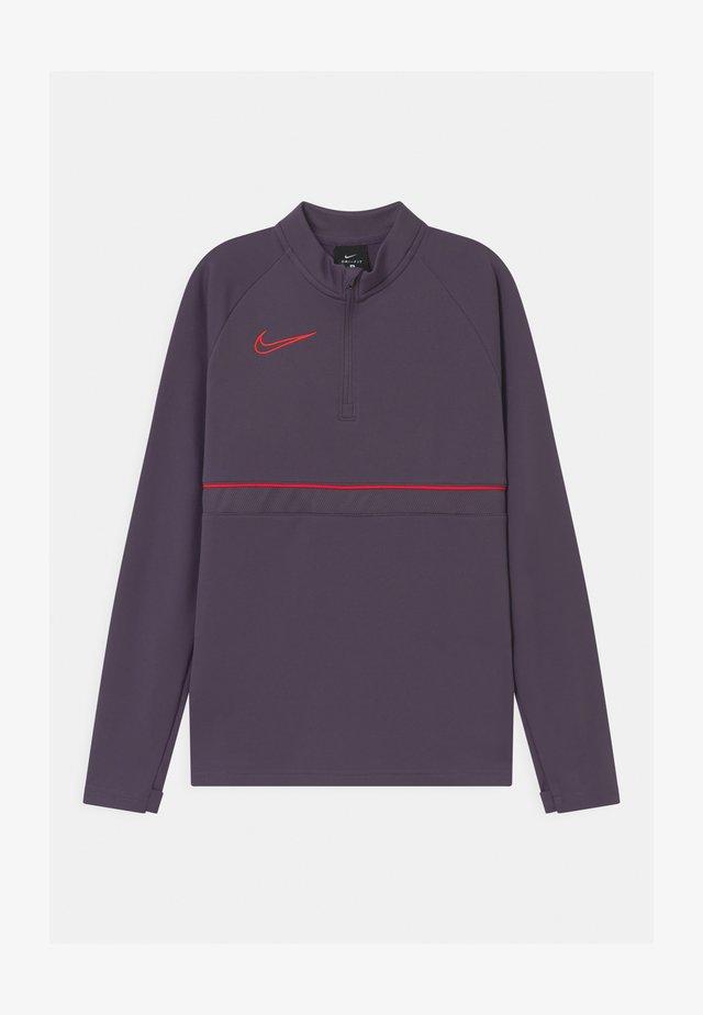 ACADEMY DRIL UNISEX - T-shirt de sport - dark raisin/siren red
