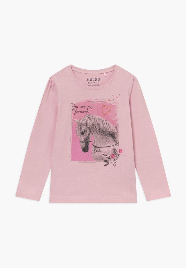 KIDS HORSE - Pitkähihainen paita - rosa