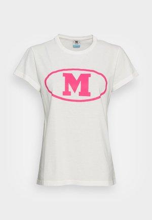 SHORT SLEEVE - T-shirt imprimé - marshmallow